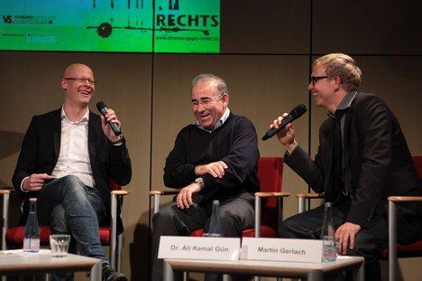 v.l.n.r.: Matthias Deiß, Dr. Ali Kemal Gün, Martin Gerlach Foto: Kerstin Brümmer