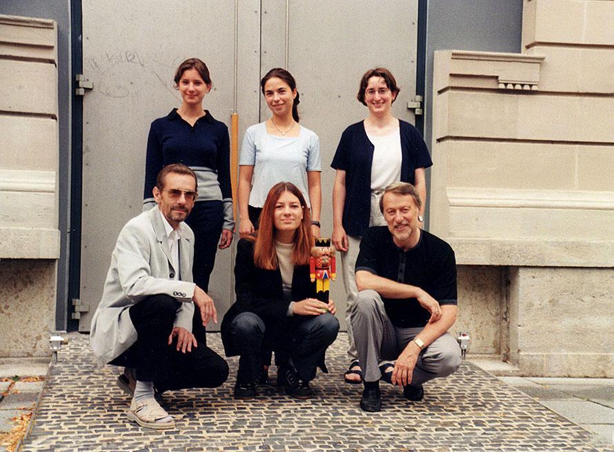 v.l.n.r. stehend: Rayka Wehner, Sabine Richter, Sabine Wittmer; vorn: Gernot Tschirwitz, Ilona Seufert, Klaus Lapins