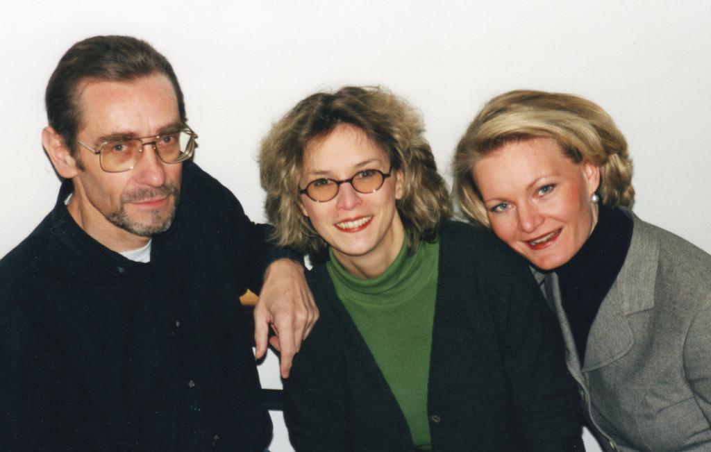 v.l.n.r.: Gernot Tschirwitz, Regina J. Kleinhenz, Sabine Zeilermeier